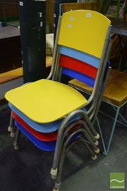 Sale 8532 - Lot 1123 - Set of Four Kids Chairs