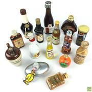 Sale 8649R - Lot 84 - Collection of Vintage Alcohol Miniatures