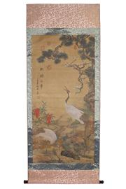 Sale 8153 - Lot 30 - Chinese Painting Scroll