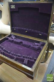 Sale 8338 - Lot 1187 - Two Cutlery Boxes