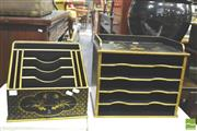 Sale 8371 - Lot 1050 - Chinoserie Letter Racks