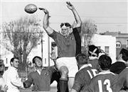Sale 8764 - Lot 52A - Manly vs Randwick, Rugby Union, 1965 - Manlys Wallaby second-rower Rob Heming 21 x 31cm