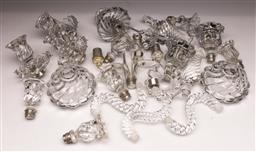 Sale 9104 - Lot 37 - A Collection Of Baccarat Crystalware Spare Parts (Some slight losses)