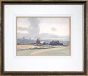 Sale 8443 - Lot 563 - Frederick Leist (1878 - 1945) - Landscape 26 x 36.5cm