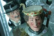 Sale 7875 - Lot 36 - Royal Doulton Toby Jugs Henry V & City Gent