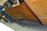 Sale 7987A - Lot 1301A - Raised Timber Sideboard