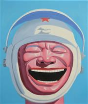 Sale 8161A - Lot 35 - Contemporary Chinese School (XX) - Spaceman 60 x 50cm