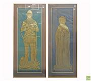 Sale 8609 - Lot 2083 - Pair of Westminster Abbey 1849, Depictions
