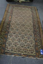 Sale 8054 - Lot 1040 - Antique Persian Wool Runner w Floral Patterns (110 x 260cm)