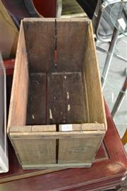 Sale 8115 - Lot 1282 - Timber Crate