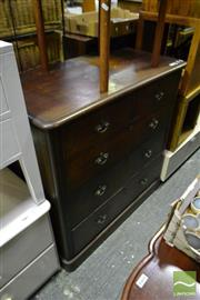 Sale 8499 - Lot 1609 - Mahogany Chest of Drawers