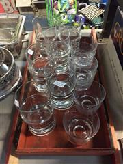 Sale 8659 - Lot 2250 - Collection of Danish Style Water & Whisky Glasses