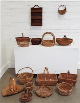 Sale 9174 - Lot 1008 - Large collection of baskets
