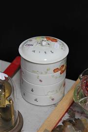 Sale 8024 - Lot 65 - Famille Rose Si Section Container