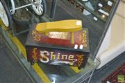 Sale 8331 - Lot 1301 - Vintage 5c Shoe Shine Box With Contents