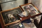 Sale 8379 - Lot 134 - Bossons Sherlock Holmes Head with Decorative Wares Incl. Frederick Mcubin Cabinet Plate