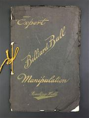 Sale 8539M - Lot 43 - Burling Hull, 'Expert Billiard Ball Manipulation: An Accurate and Comprehensive Technical Treatise on the Expert Manipulation of Min..