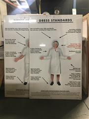 Sale 8751 - Lot 2094 - Dress Standards for Other Goods Manufacturing Poster