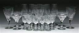 Sale 9144 - Lot 129 - A large collection of glassware inc Atlantis and 3 Stuart crystal wine glasses