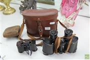 Sale 8217 - Lot 79 - Carl Zeiss Vintage Binoculars with Other Juco Binoculars