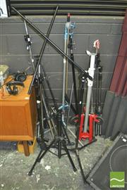 Sale 8370 - Lot 1887 - Large Collection Of Tripods, Stands, etc