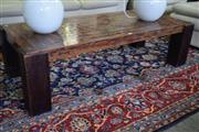 Sale 8550 - Lot 1393 - Timber Coffee Table With Copper Top