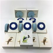 Sale 8618 - Lot 59 - Royal Australian Mint Birds of Australia $10 Silver Coin and Proof Sets in box (10), 1989-1991