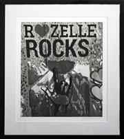 Sale 8734A - Lot 35 - Lynn Pearce - Rozelle Rocks, 2014 61 x 55cm (frame size)