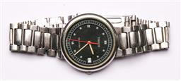Sale 9119 - Lot 145 - A Mens Tissot watch with stainless steel band, untested