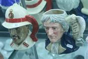 Sale 7875 - Lot 30 - Royal Doulton Toby Jugs Thomas Jefferson & Bahamas Policeman