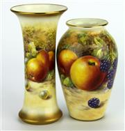 Sale 8139 - Lot 86 - Royal Worcester Vases