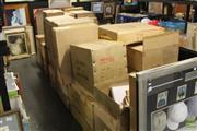 Sale 8217 - Lot 2120 - Large Collection of Boxes inc Stools Lights etc