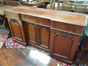 Sale 8831 - Lot 1061 - Timber Sideboard with Three Drawers & Doors (key in office)