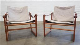 Sale 9188 - Lot 1022 - Pair of early Cikada chairs by Bengt Ruda for Ikea (h70 x w64 x d64cm)