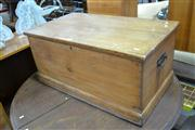 Sale 7981A - Lot 1077 - Antique Pine Trunk