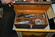 Sale 7989 - Lot 2212 - Toolbox With Tools