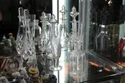 Sale 8112 - Lot 61 - Victorian Glass Decanters with Other Glass Wares incl Etched