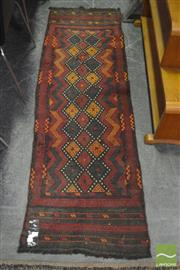 Sale 8326 - Lot 1207 - Moroccan Kilim (190 x 60cm)
