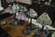 Sale 8368 - Lot 1077 - Collection of 6 Table Lamps