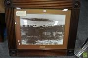 Sale 8471 - Lot 2011 - Framed Photograph of 1888 Bondi