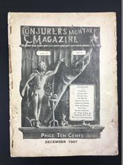 Sale 8539M - Lot 46 - Conjurors Monthly Magazine December 1907, vol. 2 no. 4, some wear