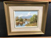 Sale 8841 - Lot 2090 - Signed Oil