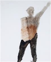 Sale 8976A - Lot 5005 - Sidney Nolan (1917 - 1992) - Untitled (Figure) 30.5 x 25.5 cm (frame: 56 x 50 x 4 cm)