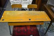 Sale 8031 - Lot 1036 - Double Oak School Desk