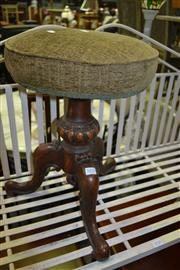 Sale 8093 - Lot 1037 - Piano Stool on Tripod Base