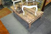 Sale 8129 - Lot 1068 - Rustic Timber Coffee Table