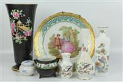 Sale 8422 - Lot 14 - Aynsley Vases with Other Ceramics incl. Limoges