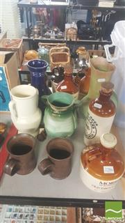 Sale 8417 - Lot 20 - Beswick Vase with Other Pottery incl Elischer