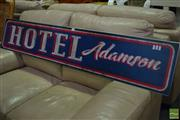 Sale 8523 - Lot 1073 - Pub Sign Adamson Hotel