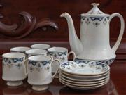 Sale 8595A - Lot 21 - A 1960's Paragon Coniston coffee set for 6 with coffee pot